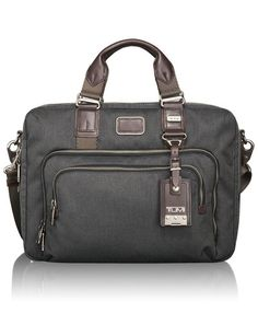 TUMI  ALPHA BRAVO  Yuma Slim Brief  $325
