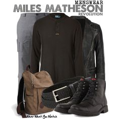 Inspired by Billy Burke as Miles Matheson on Revolution.
