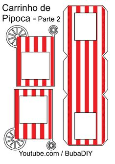 Circus Theme Party, Carnival Birthday Parties, Circus Birthday, Party Themes, 3d Paper Crafts, Diy Arts And Crafts, Cinema Party, Carnival Baby Showers, Circus Crafts