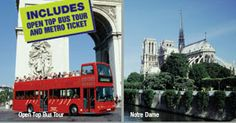 How about a tour of Paris from London in a single day.  Youll travel from London on the Eurostar to Paris, arriving approximately 10:00 am. There, you will enjoy a hop-on-hop-off tour to the most popular sites in the City of Lights. Set your own pace and visit the Champs-Elysées, Arc de Triomphe, Eiffel Tower, Notre Dame Cathedral on the banks of the River Seine, and the Louvre. Paris also offers many more famous monuments, museums and galleries, the chance for an outstanding dining…