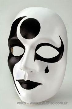 Mascara 4 aprender manualidades es facilisimo mio - Mascaras de carnaval de venecia ...
