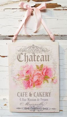 awesome Shabby Rose Chic Plaque Sign Floral Home Decor Wall Hanging Pink Cream Victorian... by http://www.best99-home-decor-pics.club/romantic-home-decor/shabby-rose-chic-plaque-sign-floral-home-decor-wall-hanging-pink-cream-victorian/