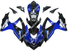 Mad Hornets - Fairings Suzuki GSXR 600 750 Blue Black GSXR Racing  (2008-2009), $599.99 (http://www.madhornets.com/fairing-bodywork-for-suzuki-gsxr-600-750-blue-black-gsxr-racing-2008-2009/)