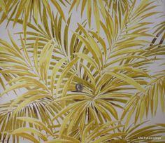 1970's Vintage Wallpaper Large Ferns Tropical por kitschykoocollage, $14.00