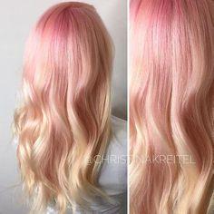20 magnifiques rose pastel coiffures et couleurs de cheveux - Cheveux Coiffure