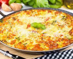Recette Courgettes aux oeufs et à la tomate