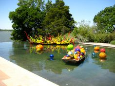 Chihuly Exhibition, The Dallas Arboretum, 2012