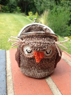 Owl Crochet Coin Purse Paid Pattern
