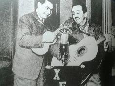 Emilio Azcárraga y Walt Disney