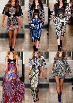 Patternbank brings you the highlights from Milan S/S 2014 Fashion Week.This is the second instalment wherewe have selected designers showing key print tr