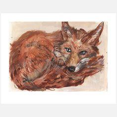 Fox Print, by Jenny Belin.