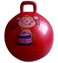 Space Hopper Ball: Red, 20in/50cm Diameter for « Delay Gifts