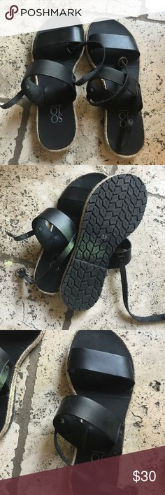 SOJO Handmade sandals size 7 **worn only once!!*** size 7 (37) sojo sandals, perfect condition Shoes Sandals