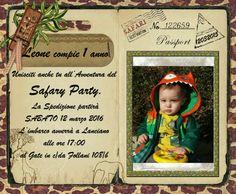 Invito safary party