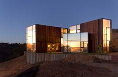 #Wood and #glass. CGM House / Ricardo Torrejon