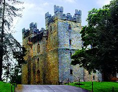 Langley Castle - Durham England - One of the few castle hotels in an actual 14th Century Square keep