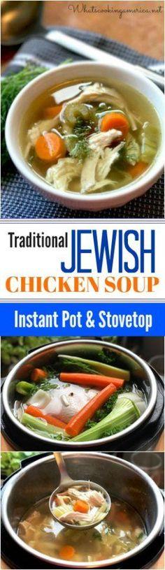 Jewish Chicken Soup (Jewish Penicillin)