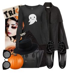 """""""always trick."""" by frenchgraffiti ❤ liked on Polyvore featuring moda, Madison Park, H&M, ASOS ve Quay"""