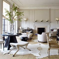 A lot of decorating for me is in the mix of styles, making a room look collected and curated rather than bought at retail, and in mixing st...
