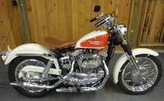 1966 Harley-Davidson Sportster XLCH #harleydavidsoncustom #harleydavidsonchopper