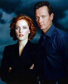 Agent Scully and Agent Doggett