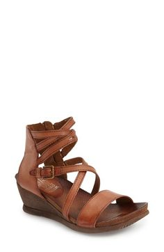 Miz Mooz 'Shay' Wedge Sandal (Women) available at #Nordstrom. Love These!