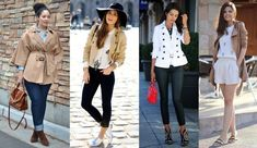 Foto: Reprodução / Girl with curves Trench, Fashion Ideas, Curves, Jackets, Leather, Coats, Winter Time, Outfit, Cold