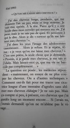 Texte extrait de Ma bouche tordue, éditions du Manuscrit, novembre 2006.