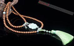 With Tassel India Laoshan Sandalwood Mala Beads