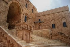 Deyrulzafaran Monastery near Mardin used by Syriac orthodoxs
