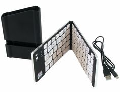 iWerkz Black Folding Wireless Bluetooth Keyboard for Your Smartphone or Tablet #iWerkz