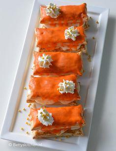 Dutch Recipes, No Bake Pies, Spanakopita, Bakery, Cookies, Holland, Orange, Baking Pies, Dutch Food