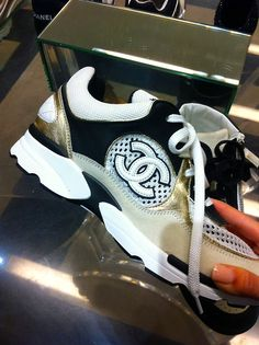 Chanel trainers...I need a pair of this for running errand on weekend with kids...