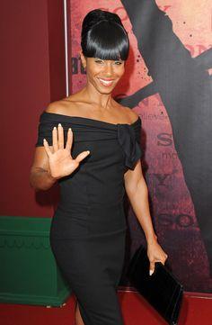 Jada Pinkett-Smith - Celebrity Black Hair Styles Pictures - StyleBistro