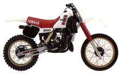 YAMAHA YZ 250 - 1983