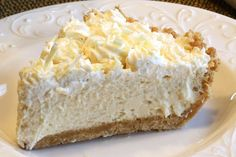 Baileys Irish Cream Pie  My husband, senior taste tester in our house, asked me if there was some sort of pie theme going on (other than a whole year of pies). A few pies have had some sort of liquor such as brandy, amaretto and now Baileys Irish Cream. I don't think there will …