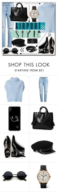 """Wanderlust Wonderful: Airport Style"" by branqa ❤ liked on Polyvore featuring Jil Sander, H&M, Dolce Vita, Jaeger-LeCoultre and Dsquared2"