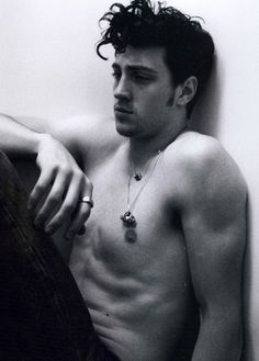 Aaron Johnson. For leaving me speechless - Panty Dropper