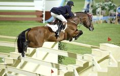 12 of the world's biggest rider frighteners: The quadruple bar, Athens Olympics, 2004. Read more at http://www.horseandhound.co.uk/features/scary-horse-fences-473630#y3ukjlyDpCYovzYJ.99