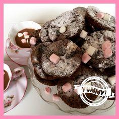 Oreo fudge choclate brownie/muffin.