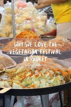 The vegetarian festival in Phuket is amazing!