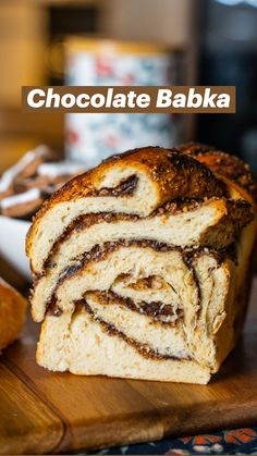 Chocolate Babka, Yeast Bread Recipes, Brunch Party, Sweets Cake, Jewish Recipes, Challah, Comfort Food, Everyday Food, Dessert Recipes