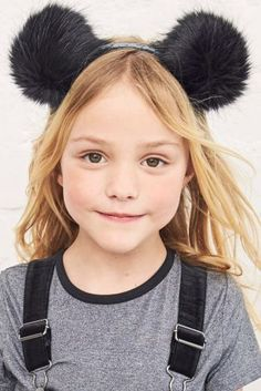 OK, we're kind of wishing that we could get away with head gear THIS cute...