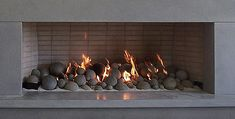 Gas Fireplace Logs Santa Rosa Gas Logs Warming Trends For Gas Log Fireplace Inserts Prepare Indoor Gas Fireplace, Gas Fireplace Logs, Rock Fireplaces, Gas Logs, Fireplace Inserts, Fireplace Ideas, Black Fireplace, Outdoor Fireplaces, Brick Fireplace Makeover