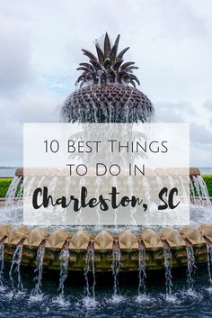 All the best thing to do while visiting Charleston, SC.