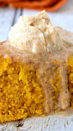 Skillet Pumpkin Cornbread with Cinnamon Maple Butter