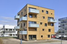 Woodcube: Carbon-Neutral Five-Story Wooden Apartment Building ...