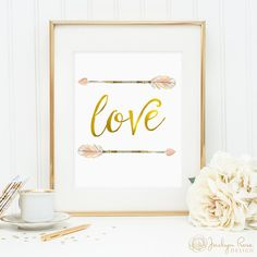 Hey, I found this really awesome Etsy listing at https://www.etsy.com/listing/245220054/love-gold-foil-boho-arrows-printable