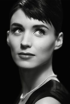 Rooney Mara- one of the prettiest people ever! even with her choppy haircut she looks amazing