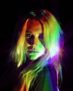 I used to live in the darkness dress in black act so heartless but now I see that colours are everything Kesha Rainbow, Kesha Animal, Kesha Sebert, Free Kesha, Underrated Artists, Kesha Rose, Rainbow Aesthetic, American Rappers, Lorde